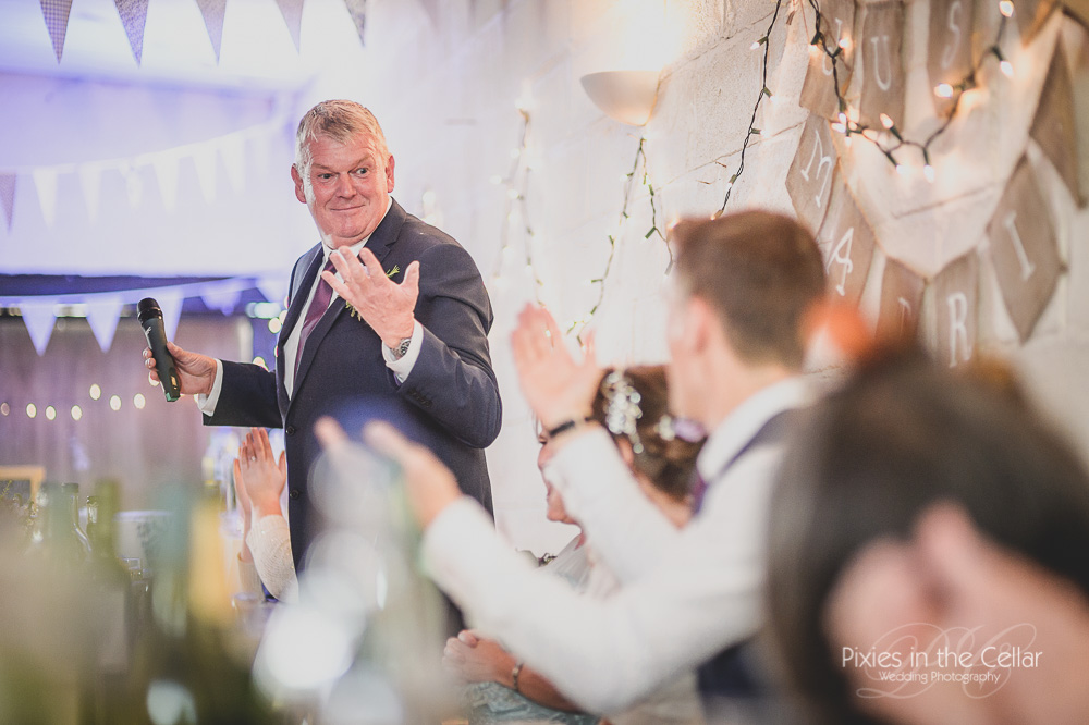 Wedding Barn speeches Derbyshire