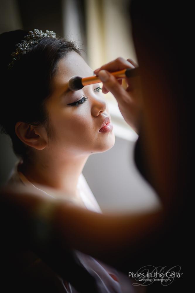 Claire salter wedding make-up