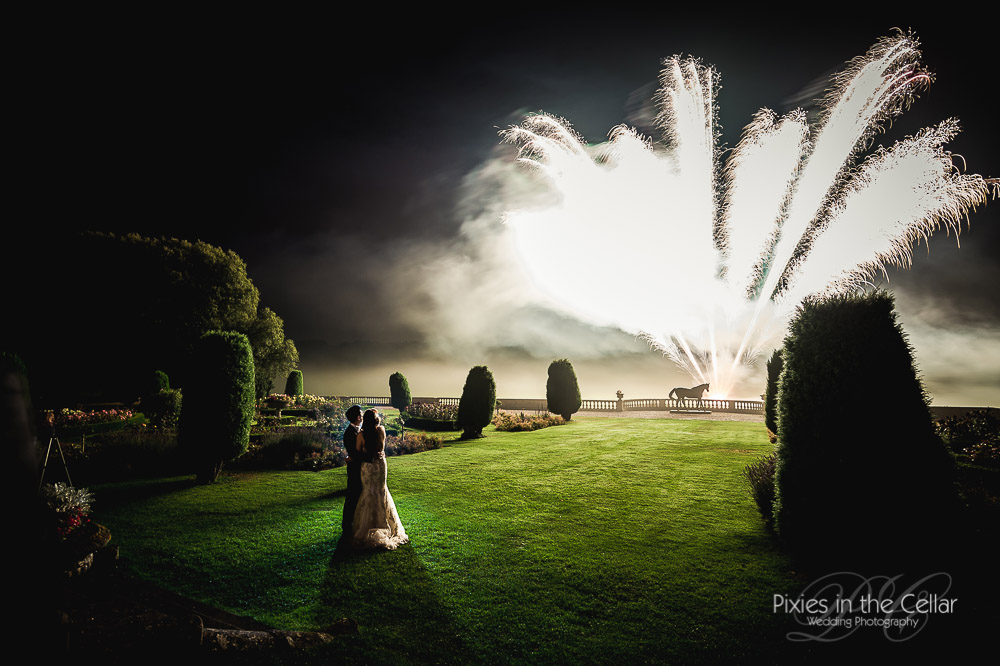 Prestwold Hall Wedding Fireworks