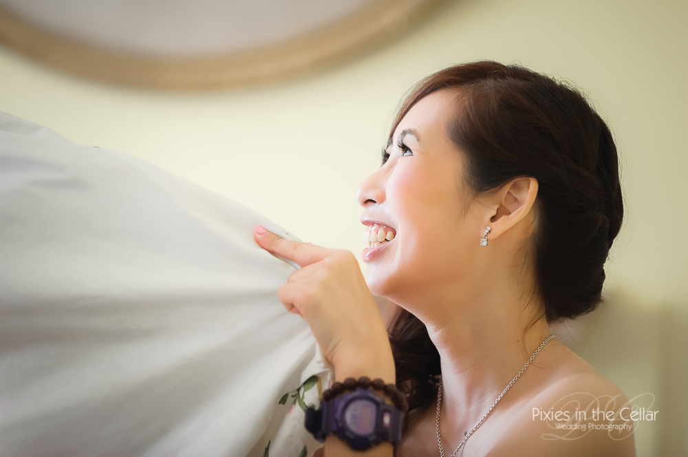 smiley bridesmaid cheshire