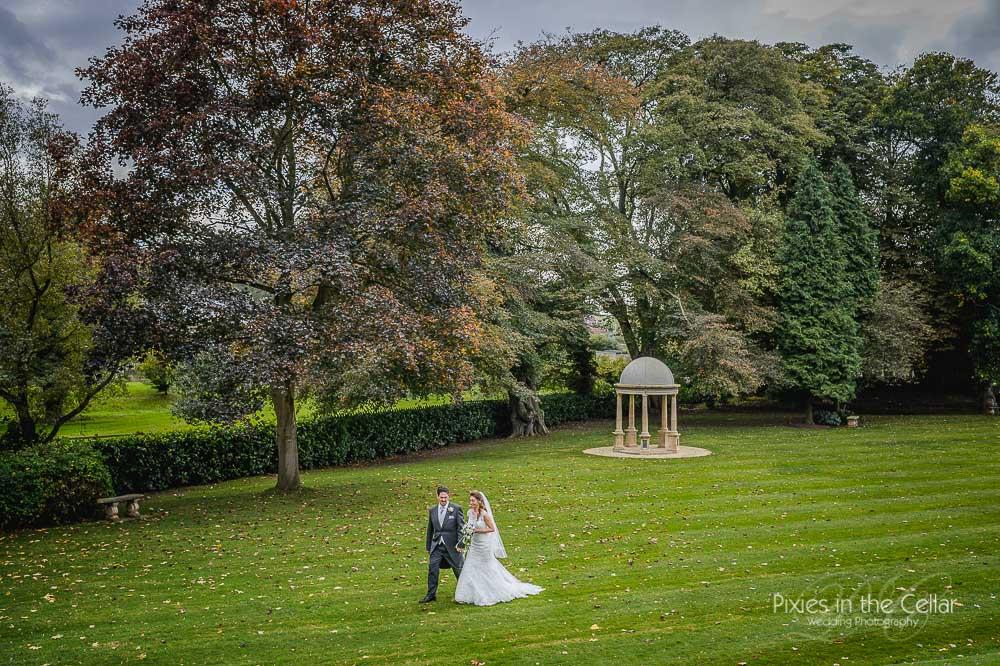 Wentbridge house autumnal wedding