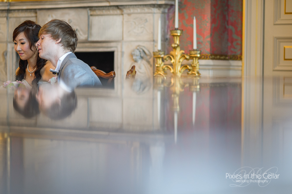 wedding reflections stately home