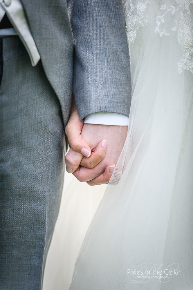 just married hands