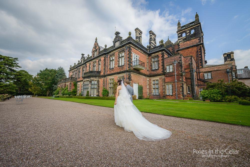 stately home wedding cheshire