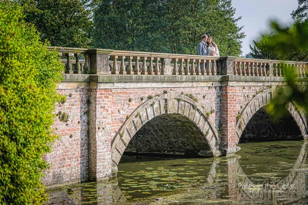 Capesthorne hall bridge