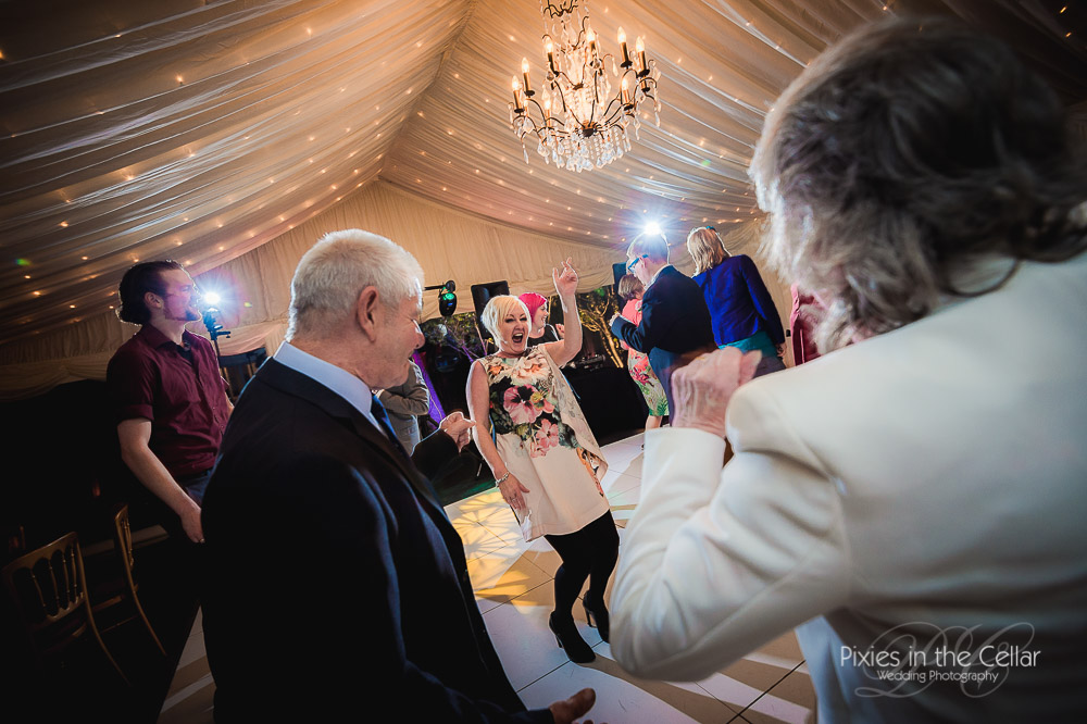 Capesthorne hall marquee