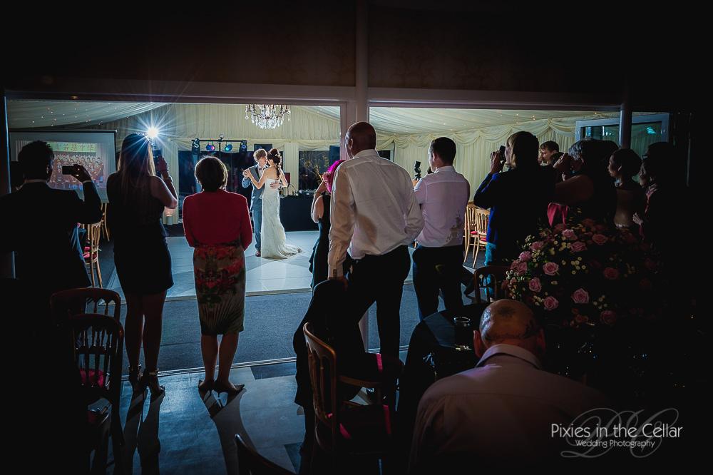 First dance capesthorne hall wedding