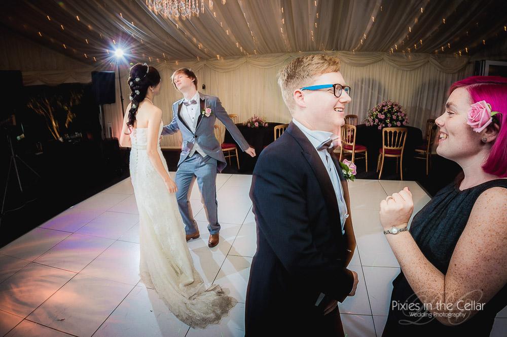 Capesthorne hall wedding disco