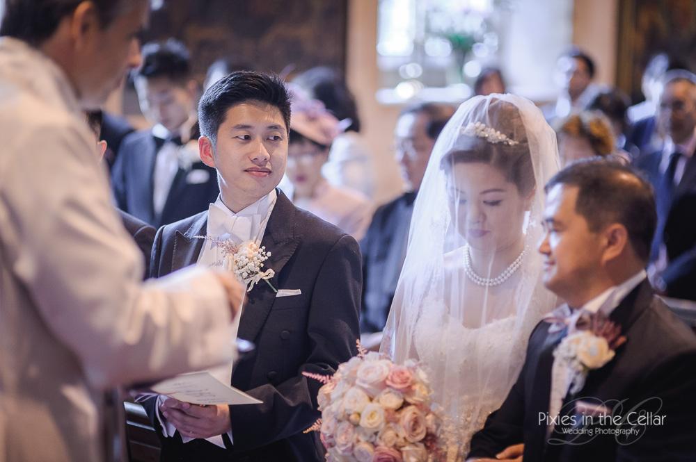 church wedding prestwold hall