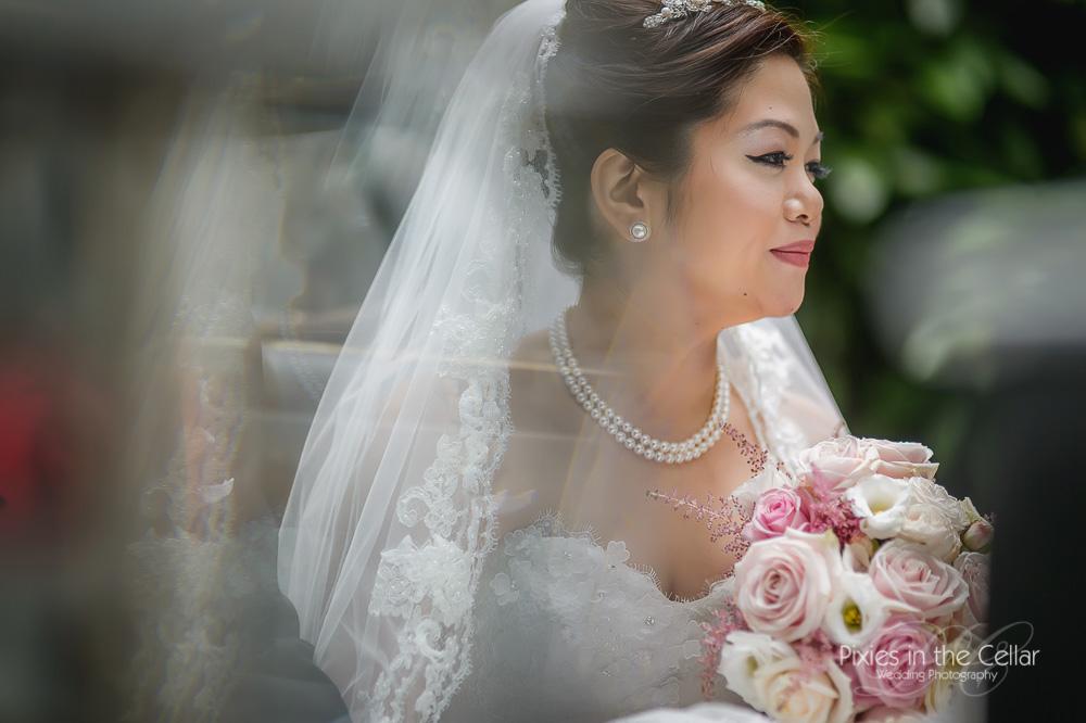 Oriental English bride