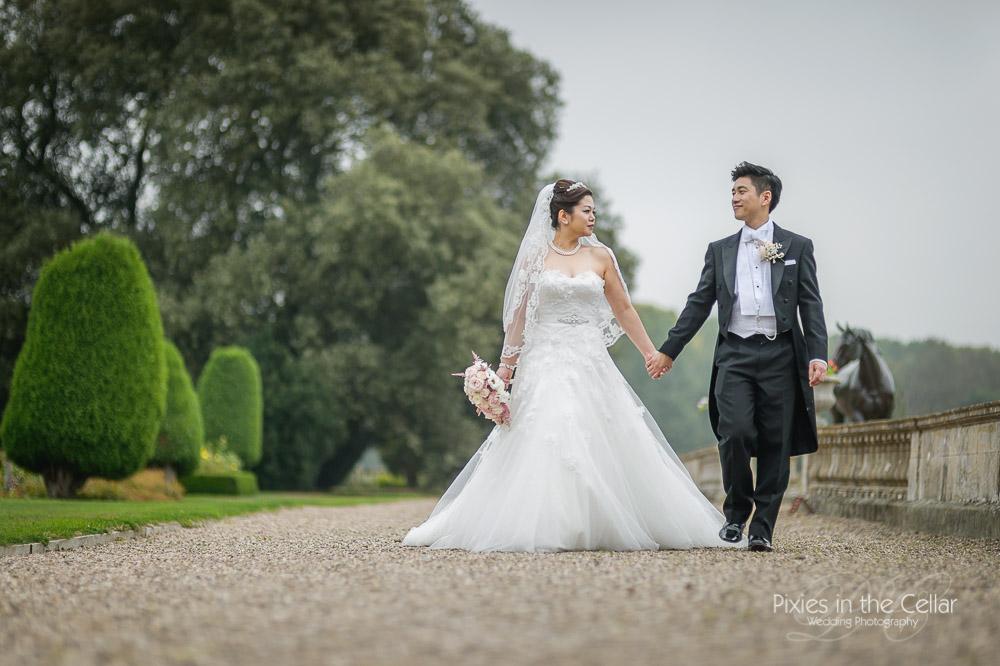 Prestwold Hall spring wedding