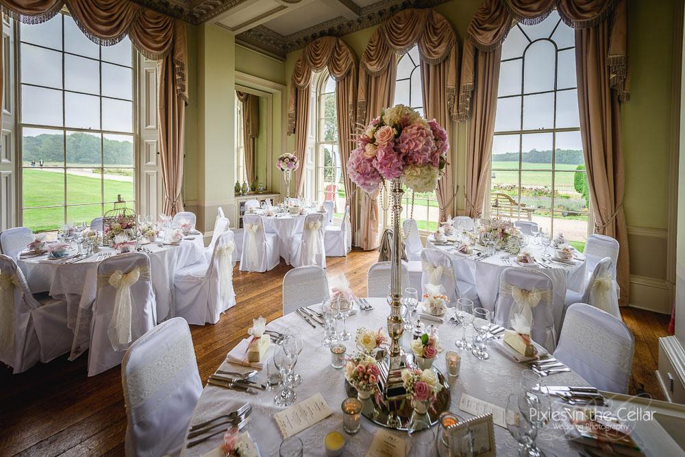 Prestwold Hall Wedding reception