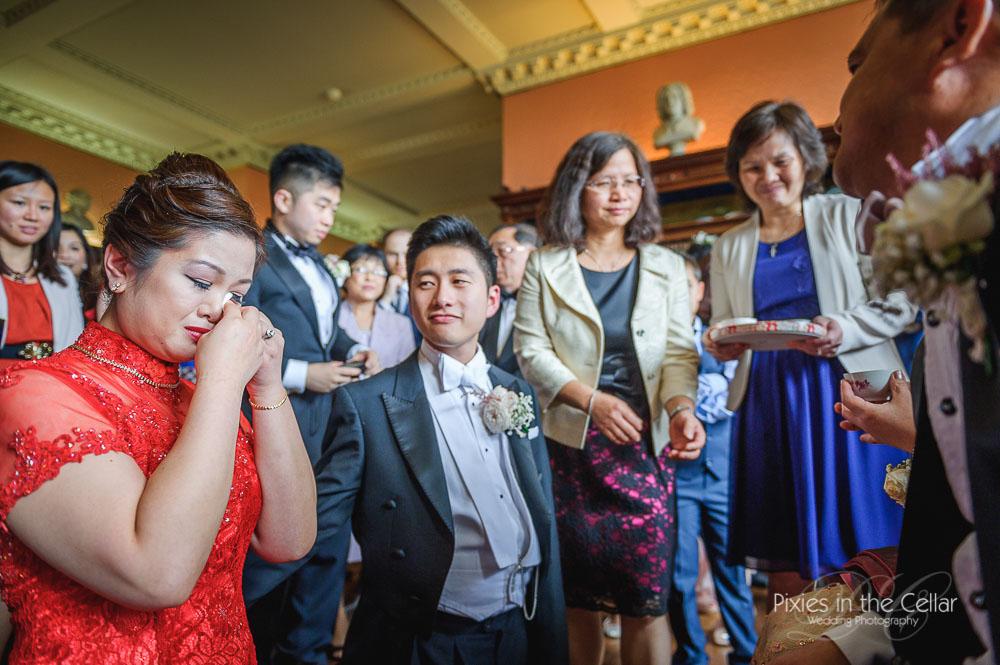 Prestwold Hall tea ceremony wedding