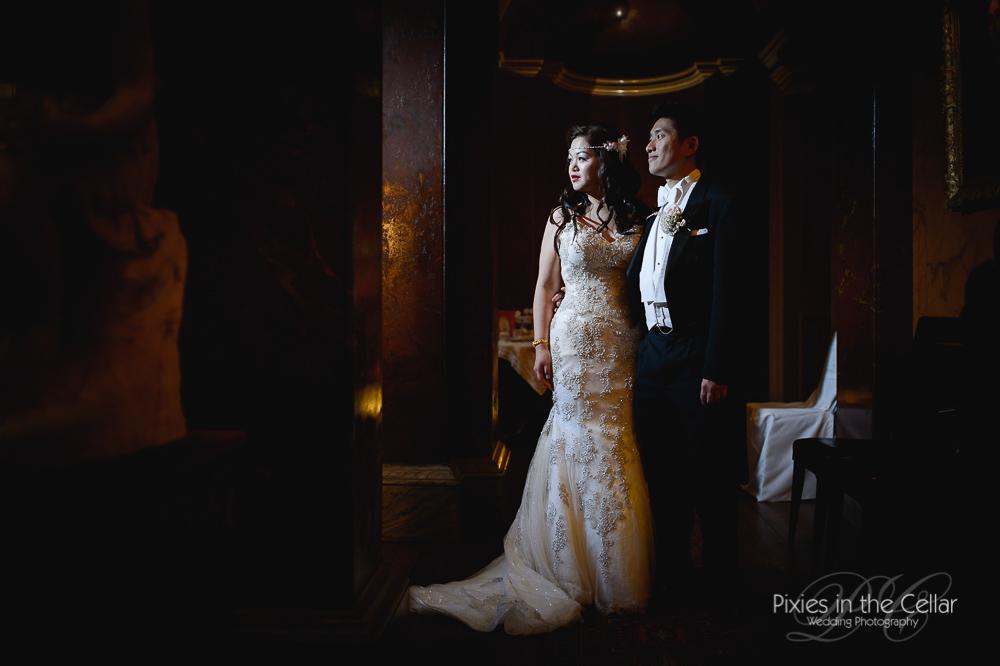 Justin alexander bride leicestershire wedding