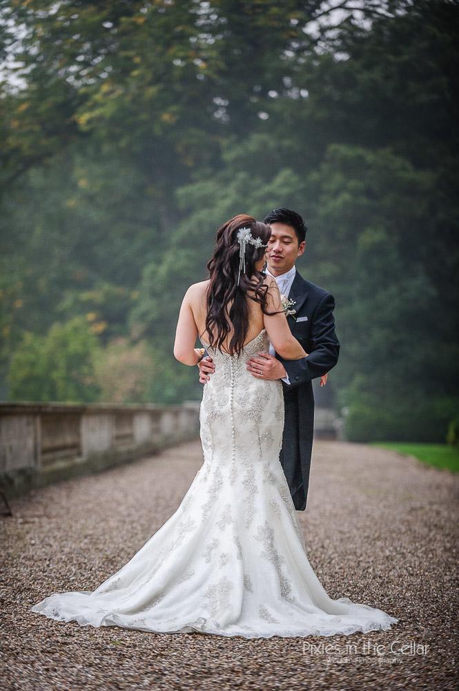 Justin alexander oriental bride