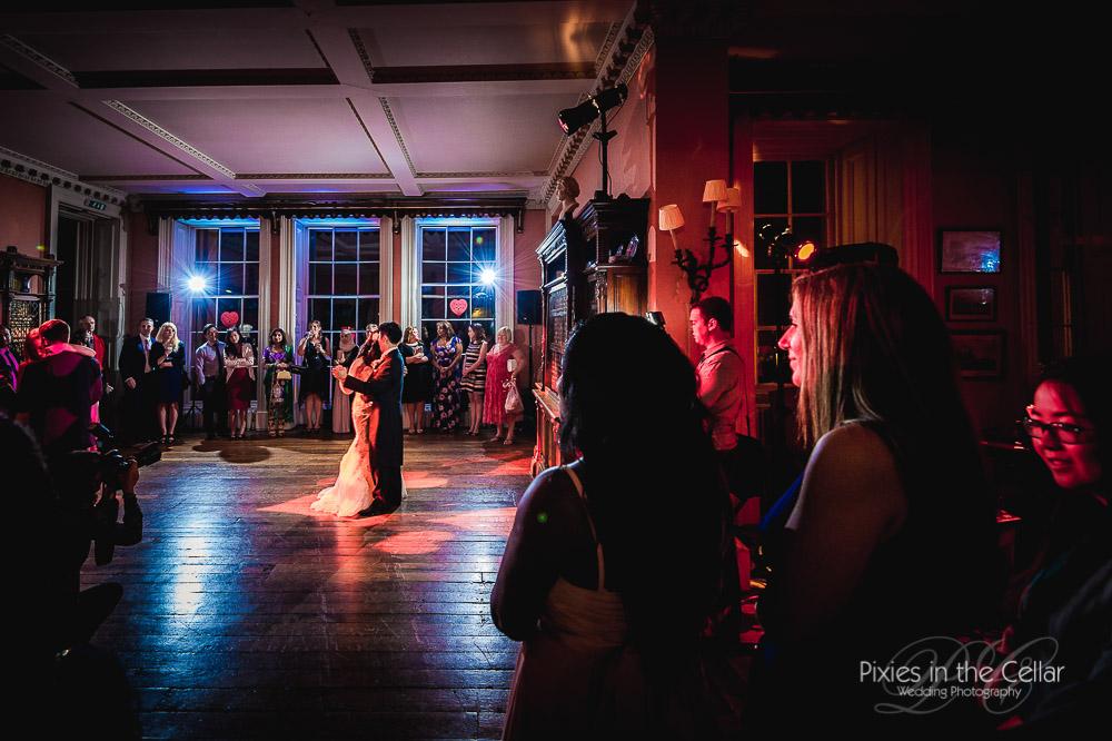 Prestwold Hall Wedding first dance