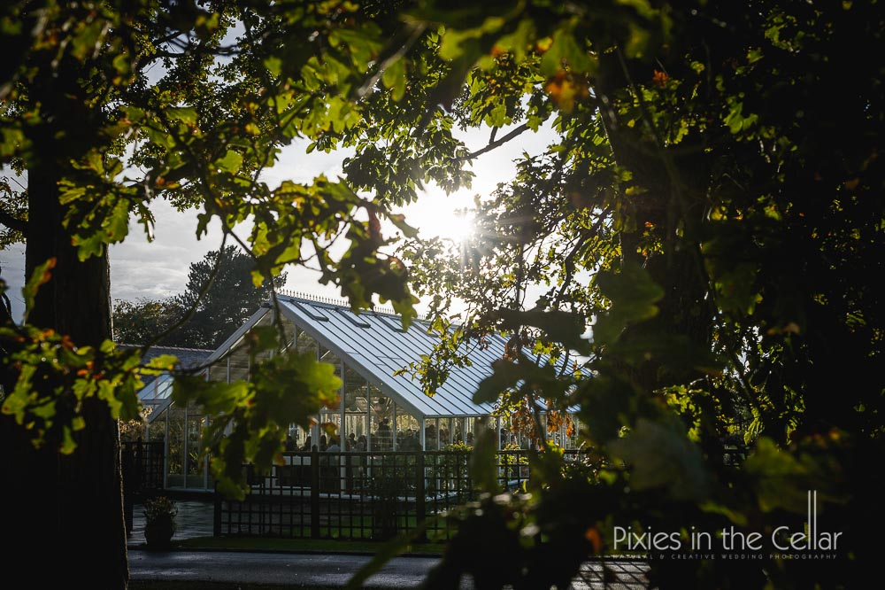 Abbeywood autumn cheshire wedding
