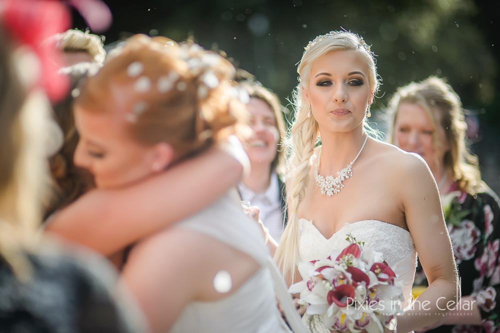 winter sun wedding Sheffield