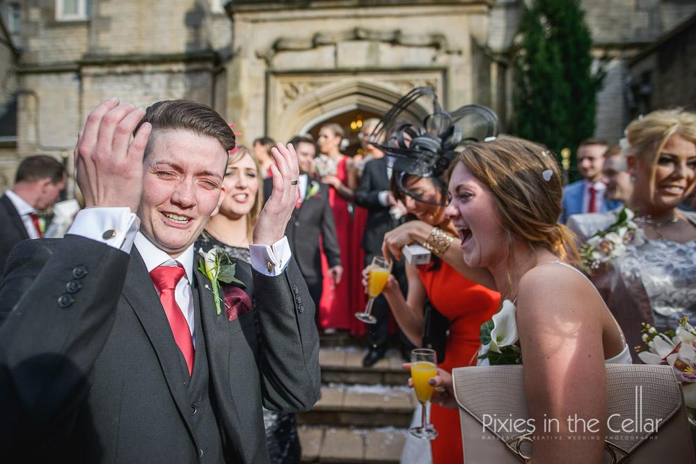 Kenwood hall wedding photographer