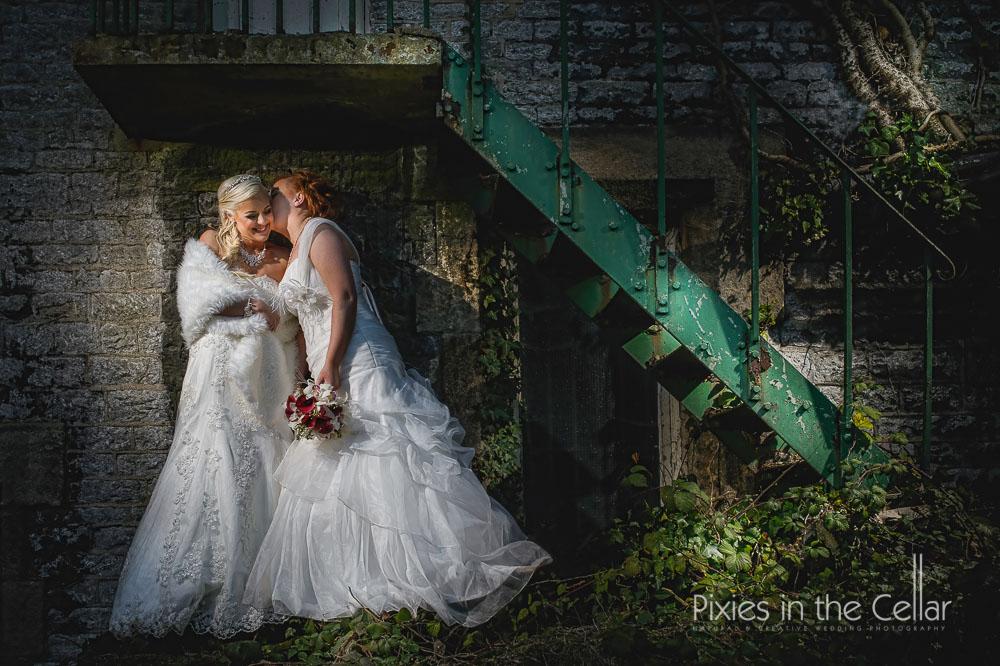 alternative gay wedding photography