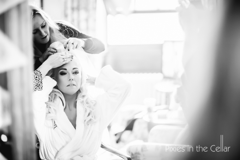 knowsley hall bridal prep