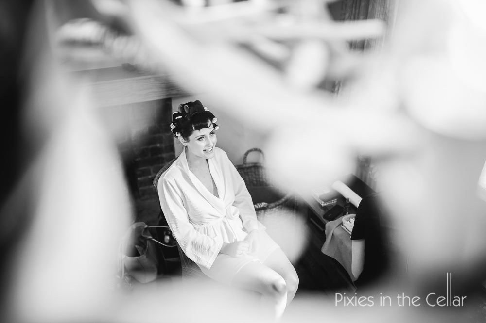 Eaves Hall lodge bridal prep