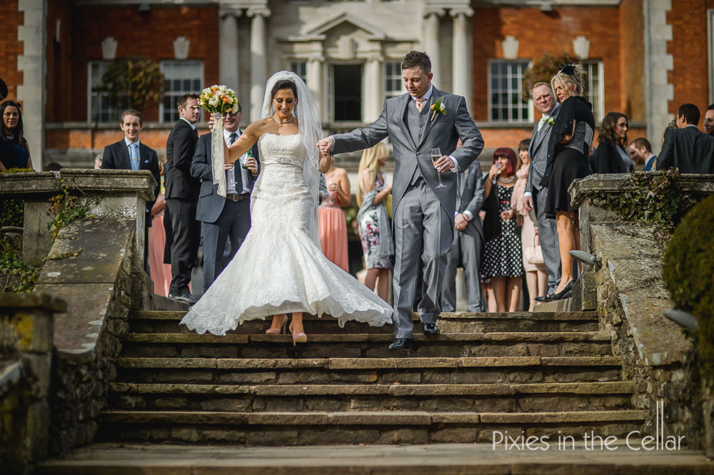 Eaves Hall Lancashire wedding