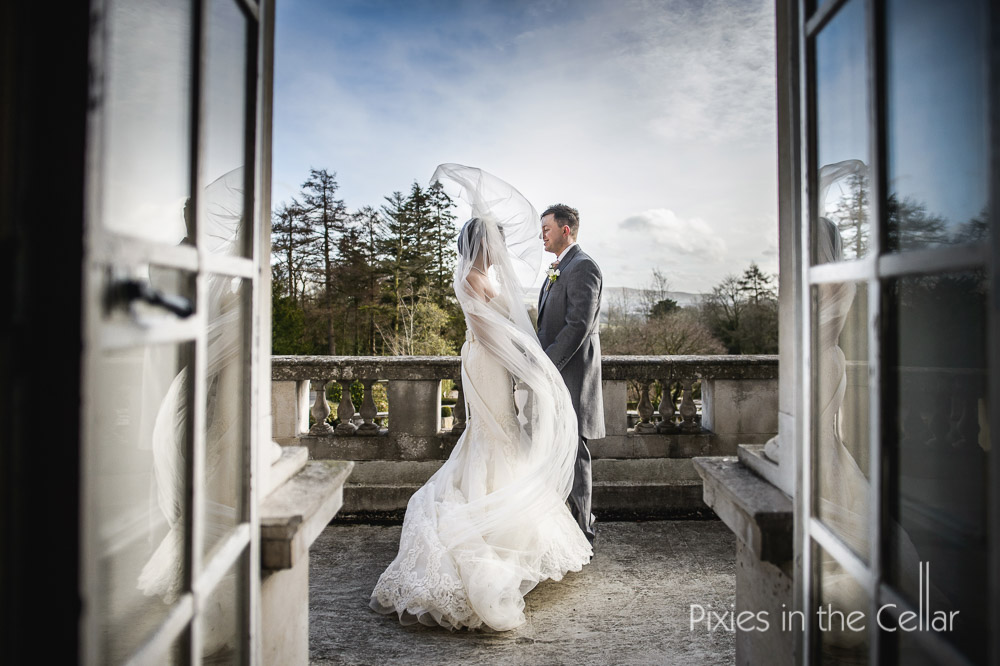 Eaves Hall Winter Wedding