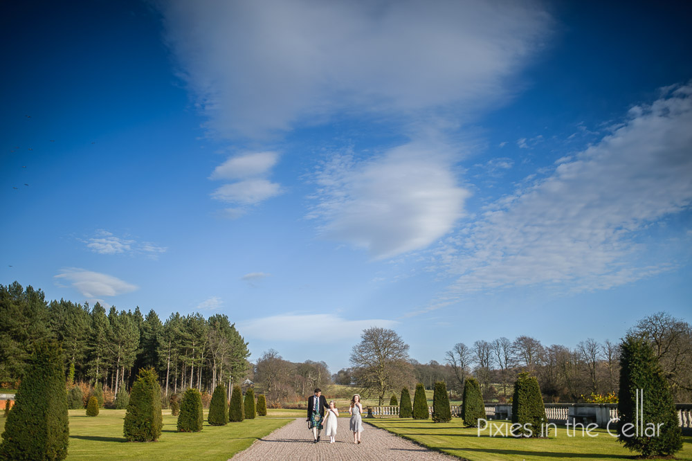 Cheshire wedding photography stately home