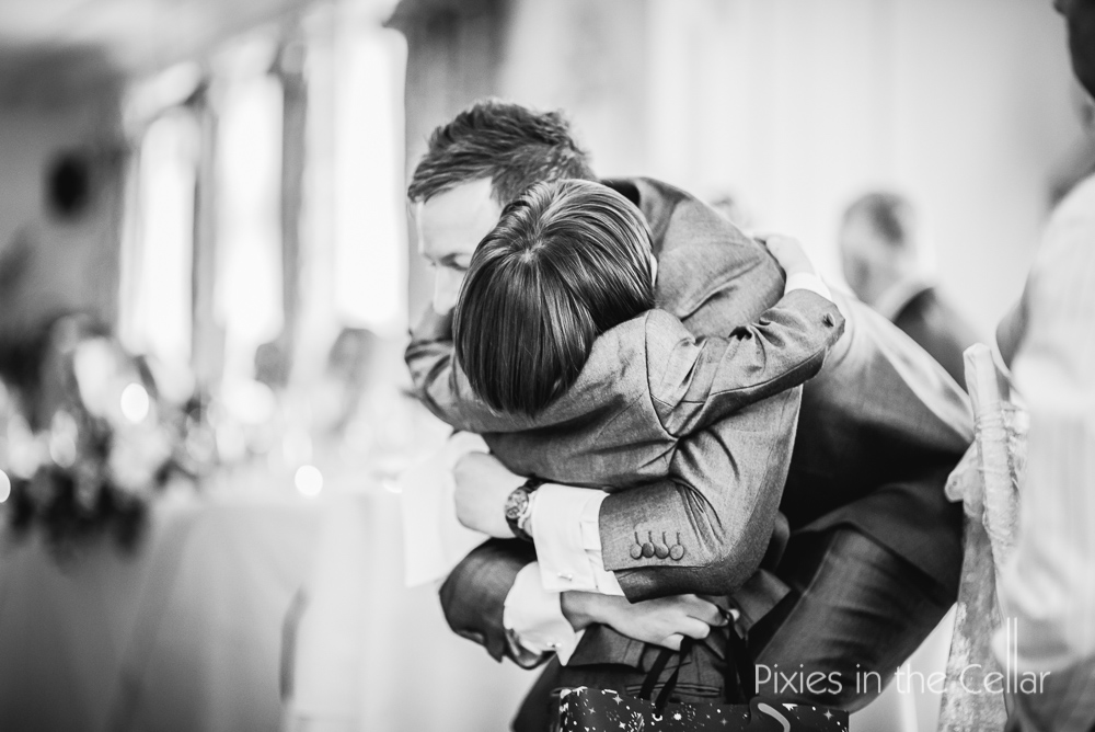 Wedding hugs lancashire