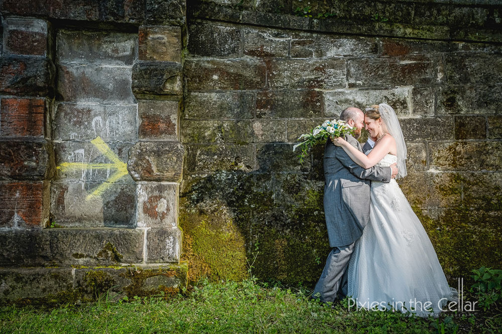Haigh hall wedding photography
