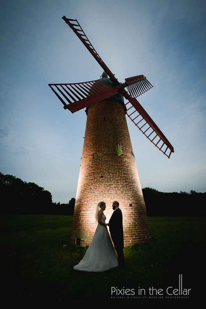 Haigh windmill wedding