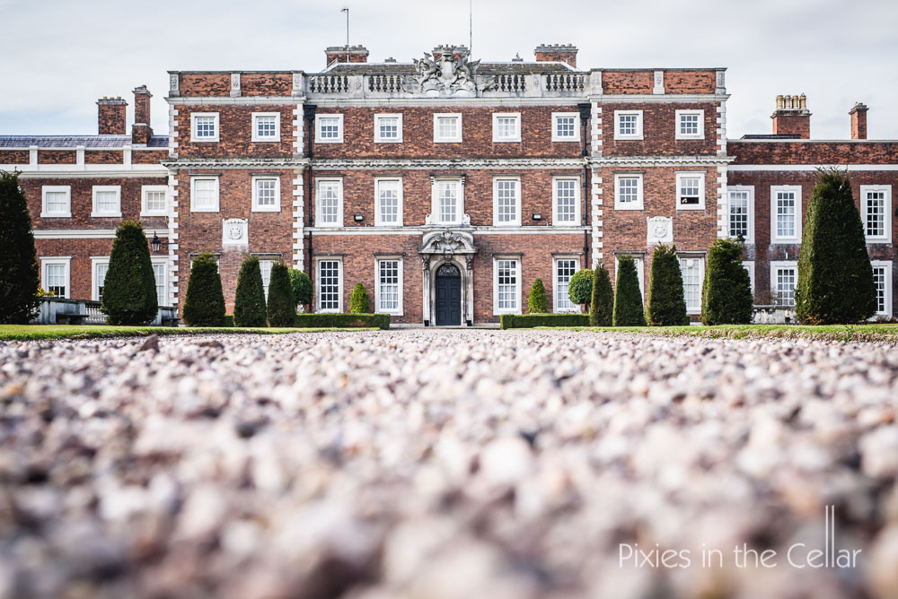 Knowsley Hall wedding photo