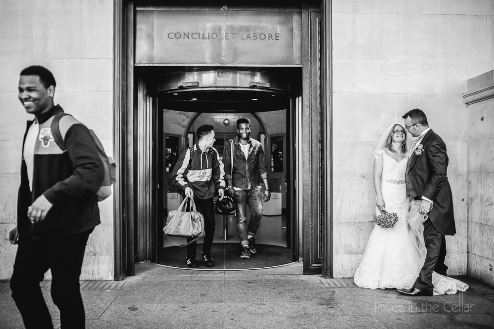 Manchester Central Library Wedding Photography