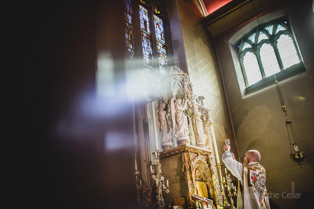 Manchester wedding catholic church