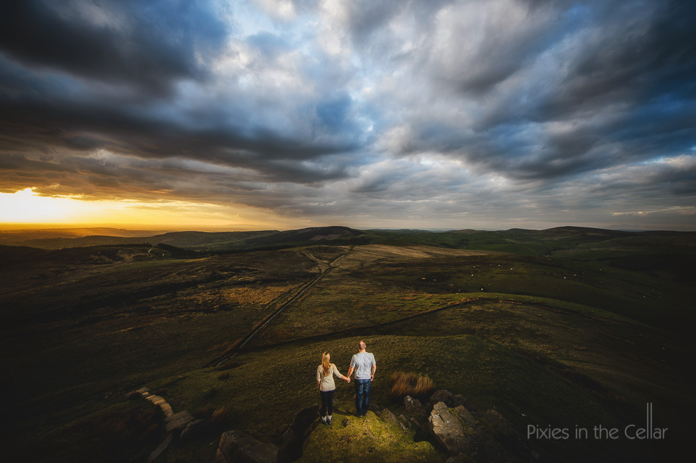 Cheshire engagement shoot best views