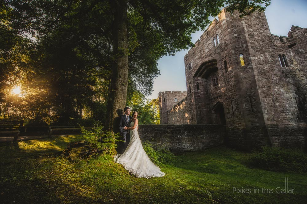 peckforton castle wedding photography