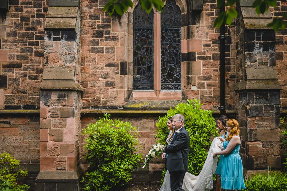 stockton heath church wedding
