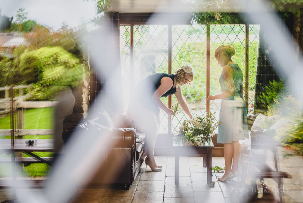 hyde bank farm wedding bridesmaid