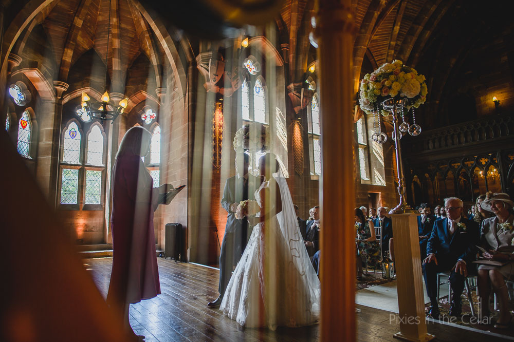 Peckforton castle great hall