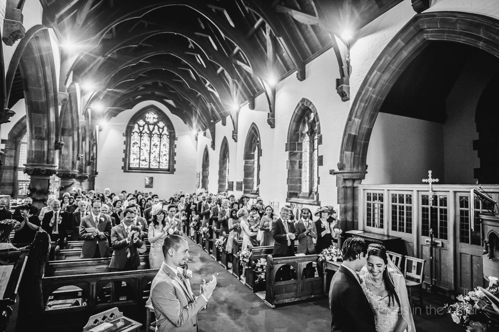 church wedding stockton heath