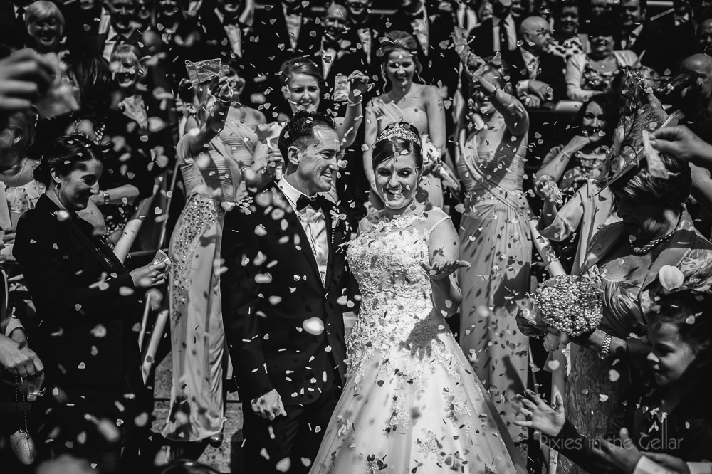 Cheshire wedding confetti