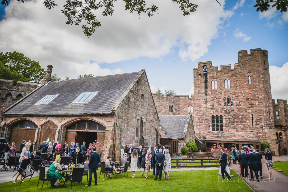 natural peckforton castle wedding photography
