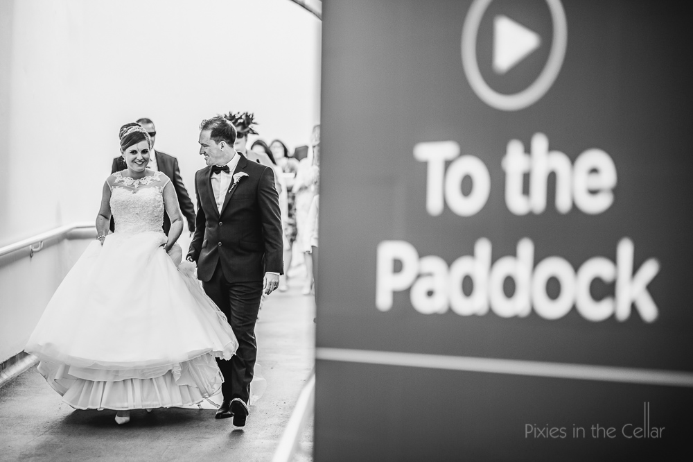 Chester racecourse natural wedding photography