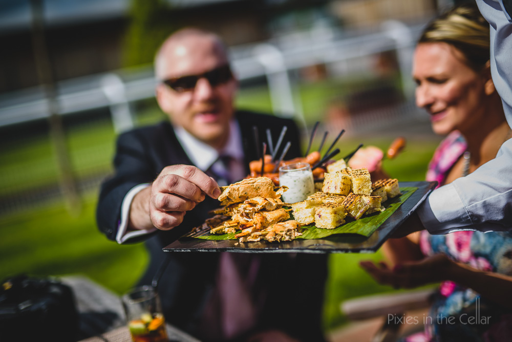 Cheshire wedding canapes