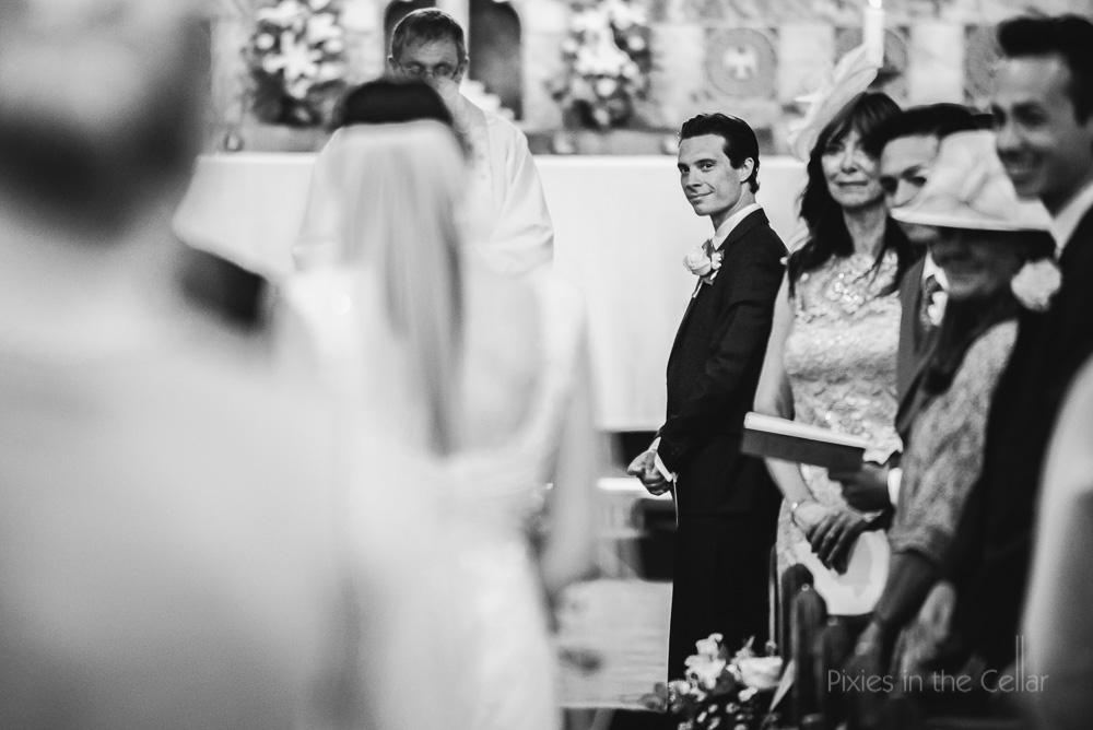 bride arrival cheshire