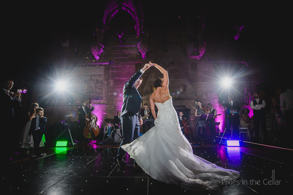 First dance peckforton wedding photography