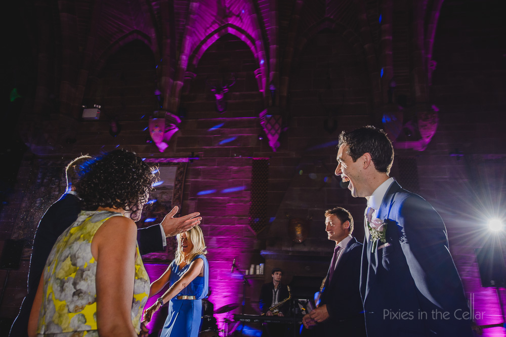 cheshire wedding photography Peckforton castle