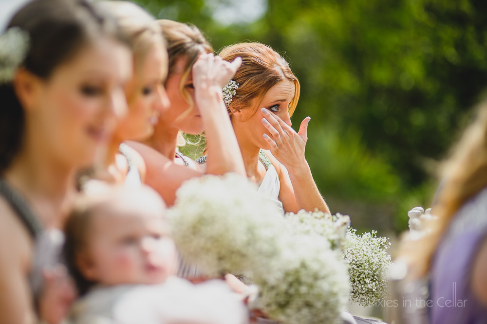 bridesmaids summer wedding