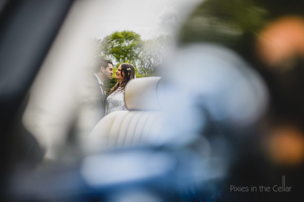 Hilltop Country House Wedding Car